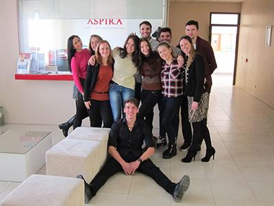 Erasmus studenti Aspire